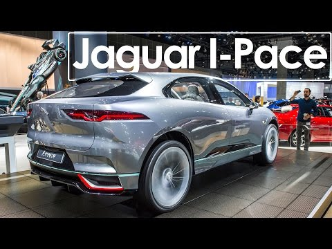 2016 Los Angeles Auto Show | Jaguar I-Pace | First Look & Overview