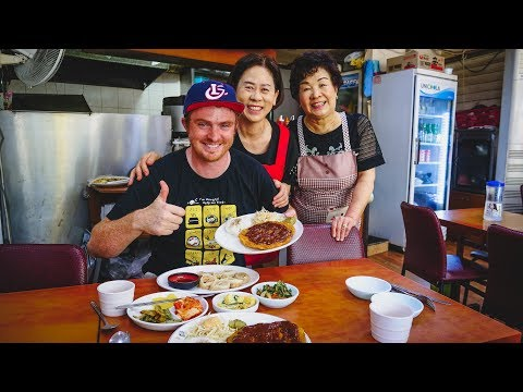 Korean Breakfast at Kimbap Cheonguk + Visiting Seoul Tower in Seoul, Korea