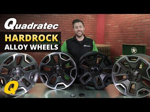 Quadratec Hardrock Wheels for Jeep Wrangler and Grand Cherokee