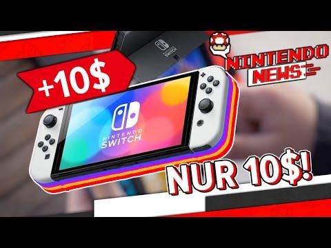 Nintendo zahlt 10$ mehr Herstellungskosten bei der OLED Switch!