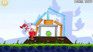 Official Angry Birds 3 Star Walkthrough Theme 1 Levels 1-5