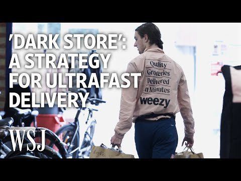 How 'Dark Stores' Are Speeding Up Grocery Deliveries   WSJ – Wall Street Journal (YouTube)