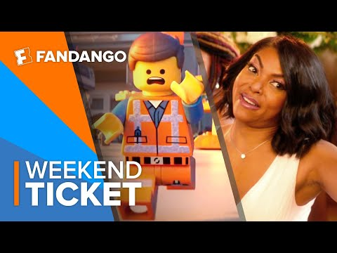 İn theaters now the lego movie 2 the second part, what men want, cold pursuit weekend ticket