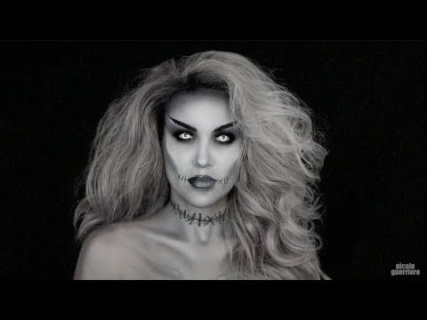 Halloween Look : Grayscale Monster Mashup