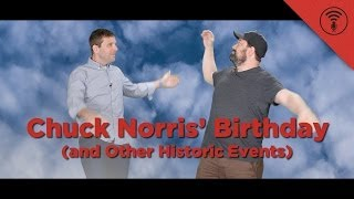 This Day in History: Chuck Norris' Birthday (and Other Historic Events)