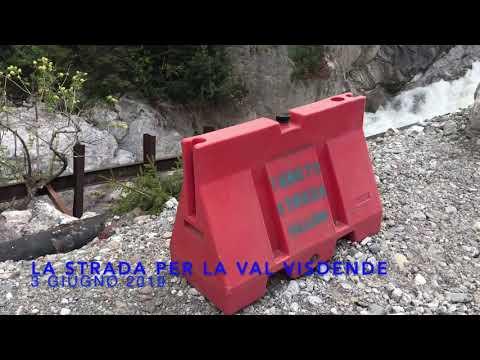 La strada per la Val Visdende (Comelico, BL)