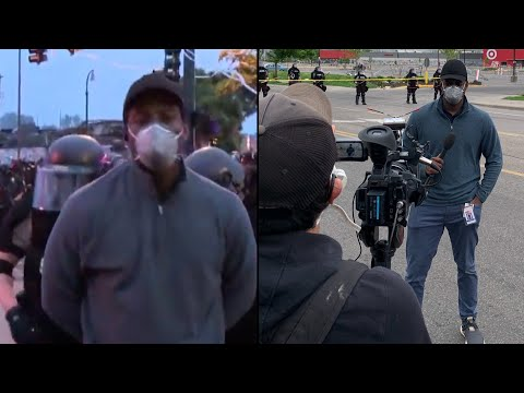 CNN Reporter Arrested on Air Covering Minneapolis Protests
