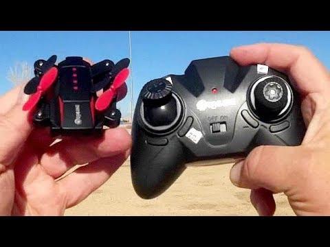 Eachine E59 Micro Folding Drone Flight Test Review