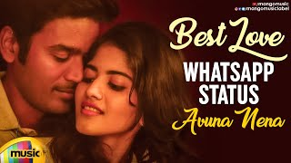 Best Love WhatsApp Status | Avuna Nena Video Song | Dhanush THOOTA Movie | Dhanush | Megha Akash - MANGOMUSIC