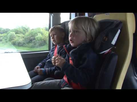 På äventyr med förskolebuss
