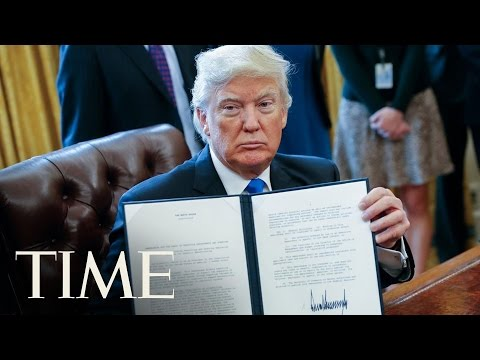 President Trump To Move Forward On Keystone XL And Dakota Access Pipelines   TIME