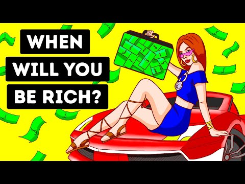 Will You Ever Be Rich? A Quick Personality Test