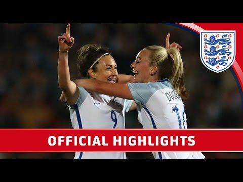 England Women 1-1 Italy Women | Official Highlights