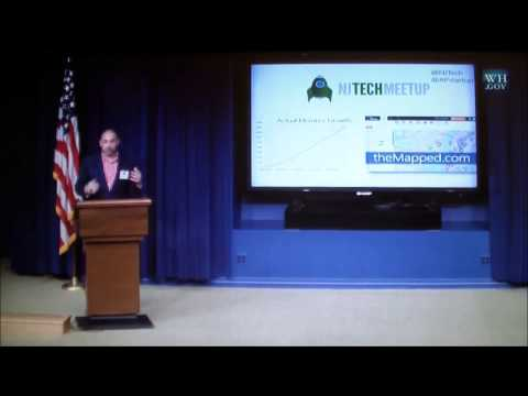 Aaron Price (NJ Tech Meetup) at Tech Meetup at the White House