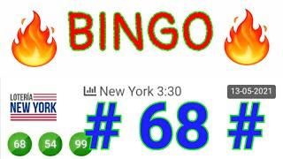 SORTEOS de HOY...! BINGO hoy (( 68 )) loteria NEW YORK TARDE/ NÚMEROS que más SALEN EN las LOTERÍAS
