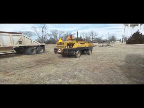 Hyster C530A pneumatic roller for sale | no-reserve Internet auction March 7, 2017