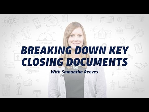 Reviewing Closing Paperwork on Your VA Home Loan