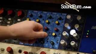 Maag Audio EQ2-500 2 band EQ w/ AIR Band pt. 2: Drum Bus Processing