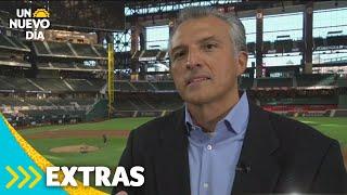 Serie Mundial 2020: conoce al hispano detrás del estadio Globe Life Field | Un Nuevo Día | Telemundo