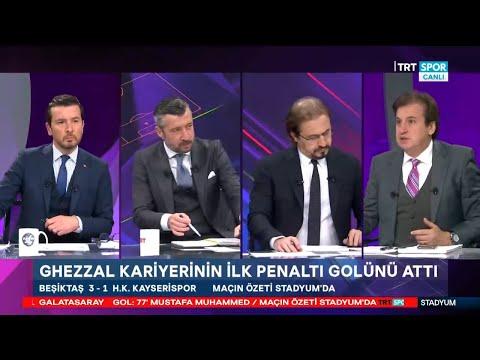 STADYUM | Beşiktaş-Kayserispor: 3-1 | Antalyaspor-Galatasaray: 0-1 | Maç sonu yorumları