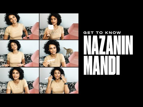 missguided.co.uk & Missguided Voucher Code video: Get to know Nazanin Mandi 💘 #missguided