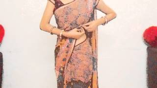 How To Wear Saree For Curvies Look/Perfect Pleats Saree