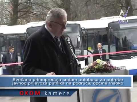 Primopredaja autobusa poslovnoj jedinici Visoko