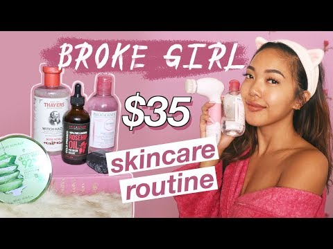 My Broke Girl Skincare Routine THAT I SWEAR BY! | Beauty | Nava Rose