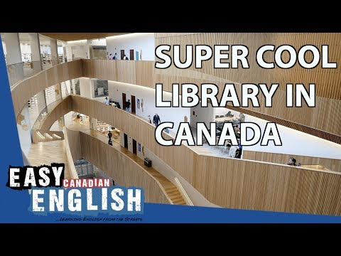At the Central Library in Calgary | Super Easy English 15 photo