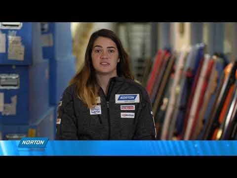 Norton Sponsors USA Luge team trailer