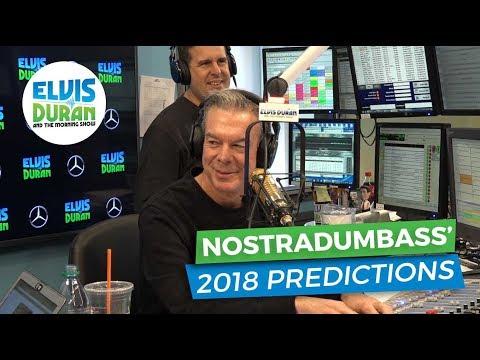 connectYoutube - Nostradumbass' 2018 Predictions | Elvis Duran Exclusive