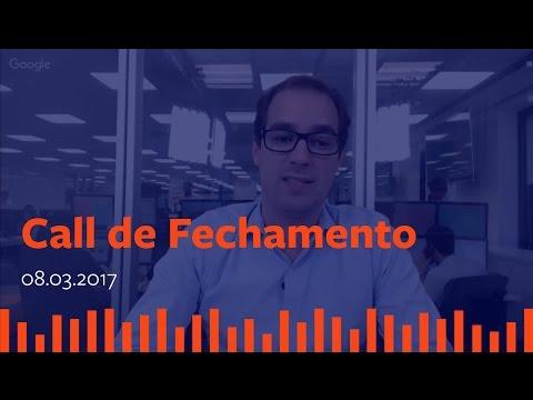 Call de Fechamento  - 08 de Março de 2017.