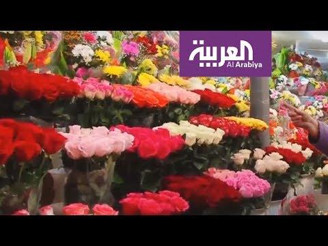 نمو خيالي لمبيعات الورد خلال الفالنتين