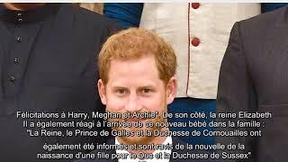 Meghan et Harry de nouveau parents : La famille royale réagit