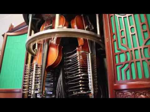 Violin playing machine