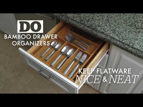Smart Kitchen Drawer & Cabinet Organization Solutions