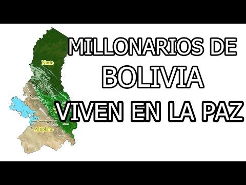 LA PAZ (Bolivia) TIERRA DE MILLONARIOS