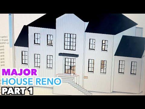 MAJOR HOUSE RENOVATION Part 1