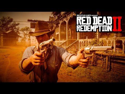 Red Dead Redemption 2: vidéo de gameplay officielle, deuxième partie