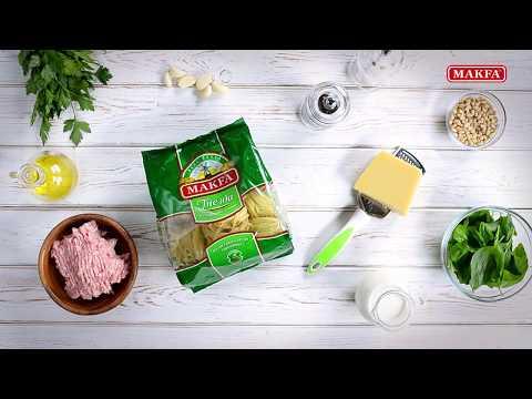 MAKFA   Мамины рецепты   Гнезда с куриными фрикадельками