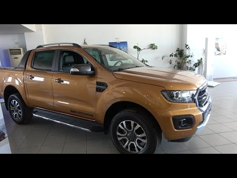 The 2021 FORD RANGER WILDTRAK 2 0 interior exterior walkaround