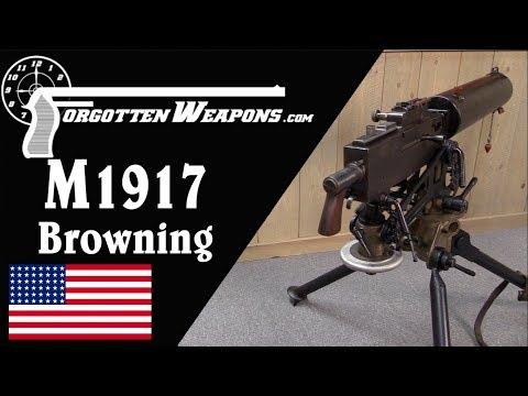 connectYoutube - Browning M1917: America's World War One Heavy Machine Gun