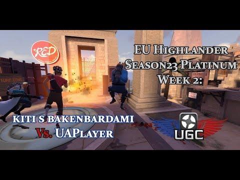 UGC EU HL S23 Plat W2: kiti s bakenbardami vs. UAPlayer