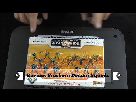 Freeborn Domari Squad Unboxing und Review