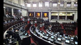 Aún no inicia la sesión solemne en el Congreso