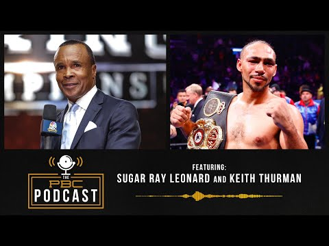 """Sugar"" Ray Leonard & Keith Thurman Talk Spence vs Garcia"