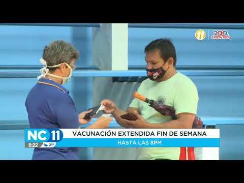 Vacunatón se extenderá hasta el fin de semana