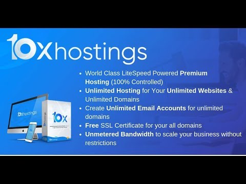 10X Hostings - Get 10 Years Unlimited Hosting for Unlimited Websites and Domains at One Low Price