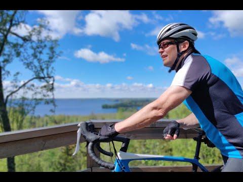 Velogi-bloggarin pyöräilyvideo Valkeakosken Sääksmäen alueen pyöräilyreiteistä ja kohteista