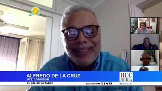 Alfredo de la Cruz explica procedimiento para que empleados suspendidos reciban ayuda